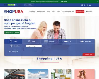 shopusa.dk website