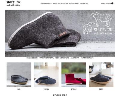 shus.dk website