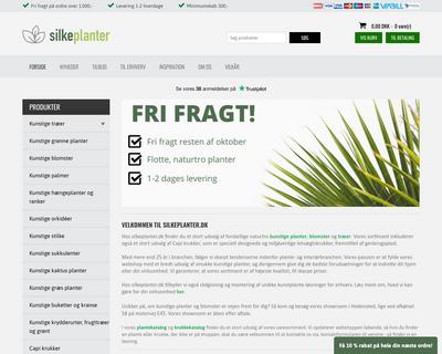 silkeplanter.dk website