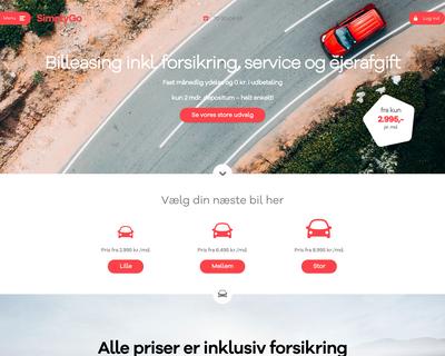 simplygo.dk website