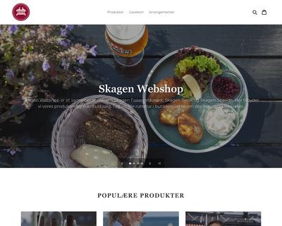skagenwebshop.dk website