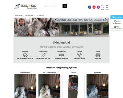 skindoguld.dk website