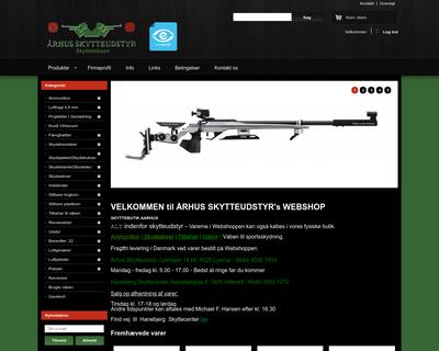 skytteudstyr.dk website