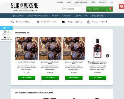 slikforvoksne.dk website