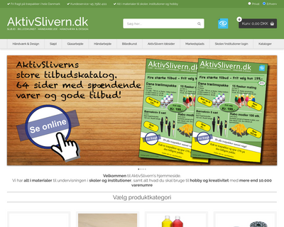 slivern.dk website