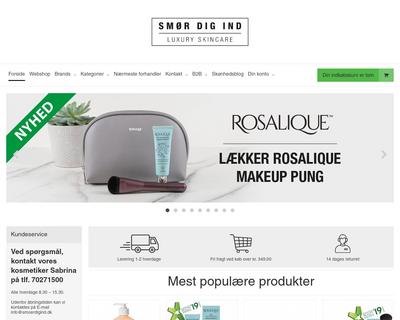 smoerdigind.dk website