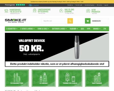 smoke-it.dk website