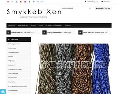 smykkebixen.dk website