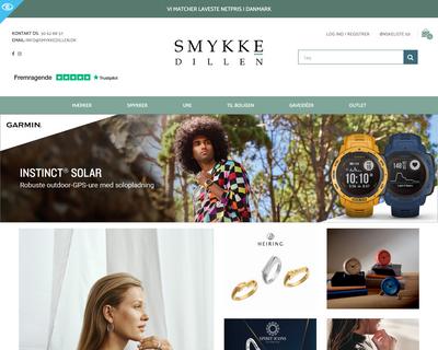 smykkedillen.dk website
