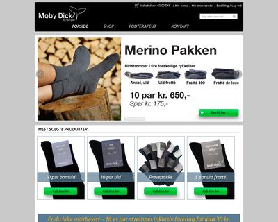 sokkesiden.dk website