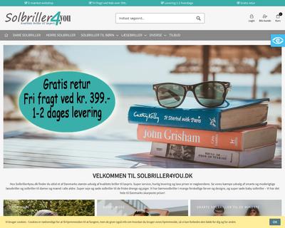 solbriller4you.dk website