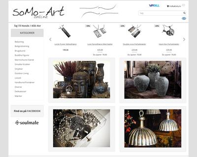 somo-art.dk website