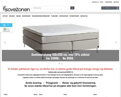 www.sovezonen.dk website