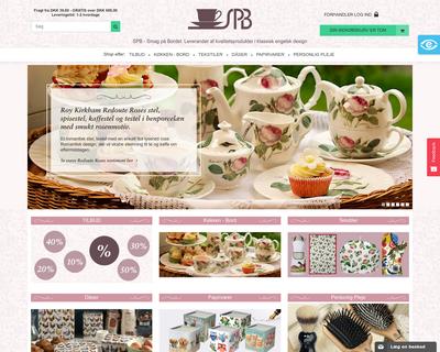 spb.dk website
