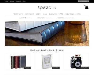 speedii.dk website