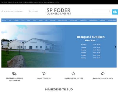 spfoderogenergi.dk website