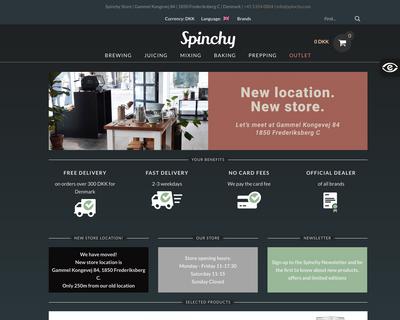 spinchy.com website