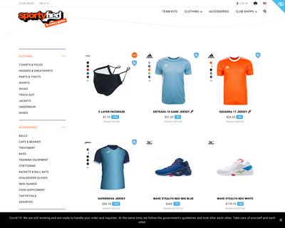 www.sportyfied.com website