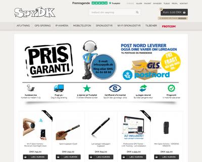spydk.dk website