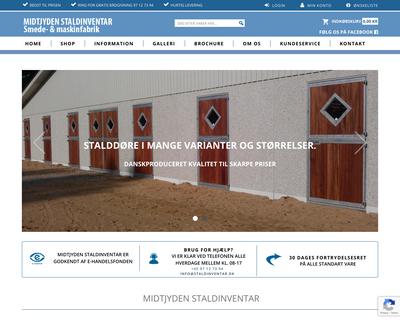 staldinventar.dk website