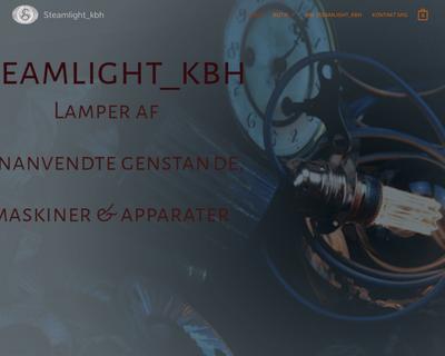steamlight.dk website