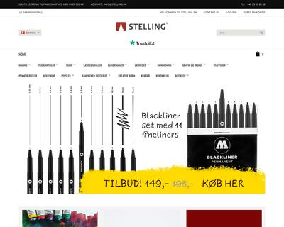 stelling.dk website