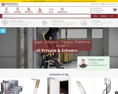 stigefabrikken.dk website