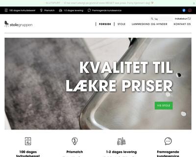 stolegruppen.dk website