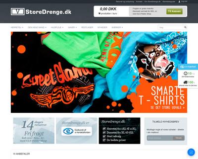 storedrenge.dk website