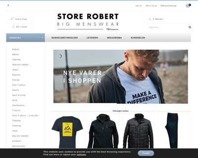 storerobert.dk website