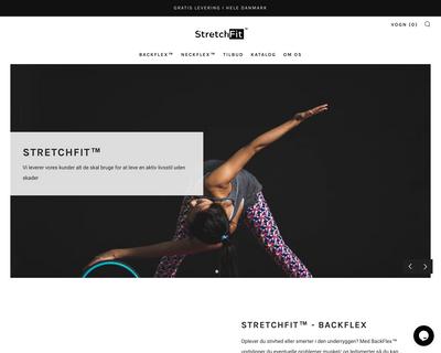 stretchfit.dk website