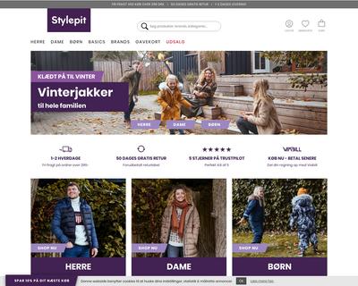 stylepit.dk website