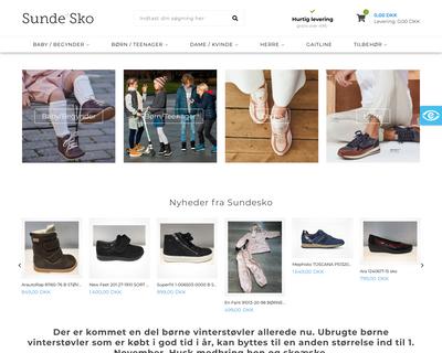 sundesko.dk website