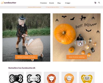 sundesutter.dk website