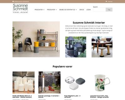 susanne-schmidt.dk website