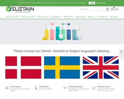 suztain.com website
