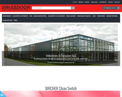 swissdoor.dk website