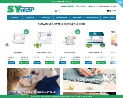 symaskinetorvet.dk website