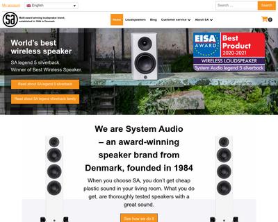 system-audio.com website