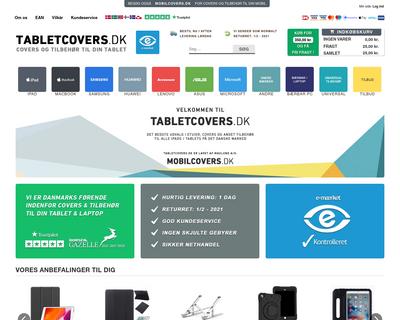 tabletcovers.dk website