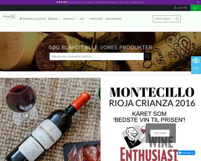 tastingclub.dk website