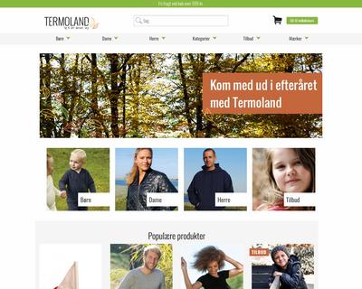 termoland.dk website