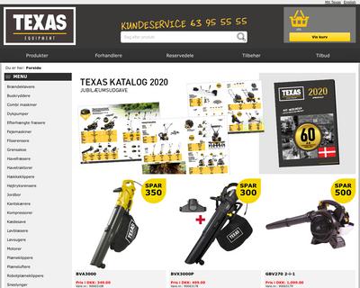 texas.dk website