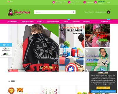thefairytalecompany.dk website