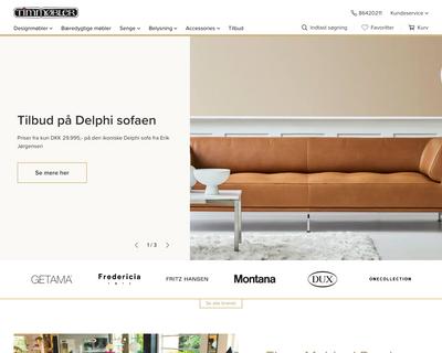 timm.dk website