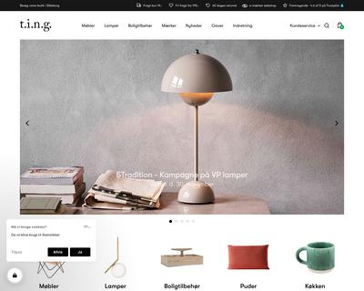 ting-shop.dk website