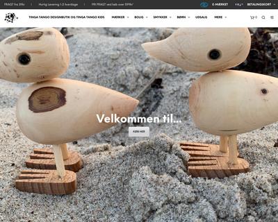 tingatango.dk website