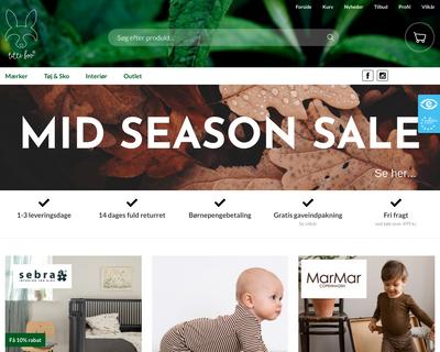 titteboo.dk website