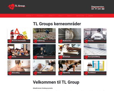 tl-group.dk website