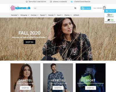 tojkurven.dk website